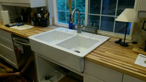 Kitchen sink & dishwasher repair & installation